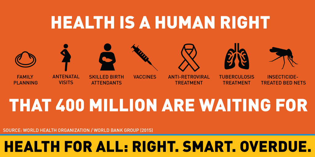 Universal health care a human right for one and all