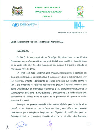 Benin-Commitment-Letter Page 1 328x452
